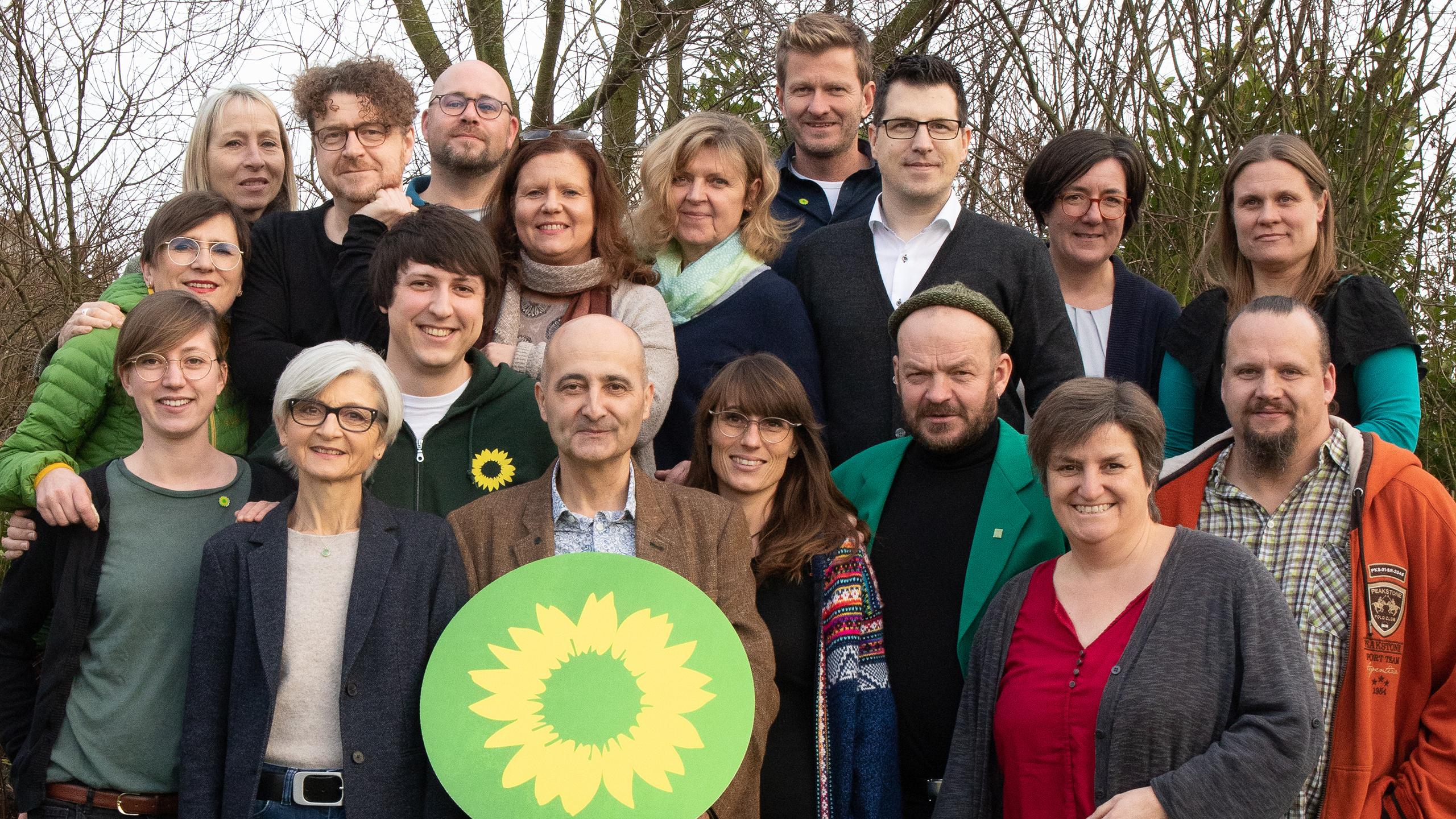 Kandidat*innen-Team für die Kommunalwahl 2020